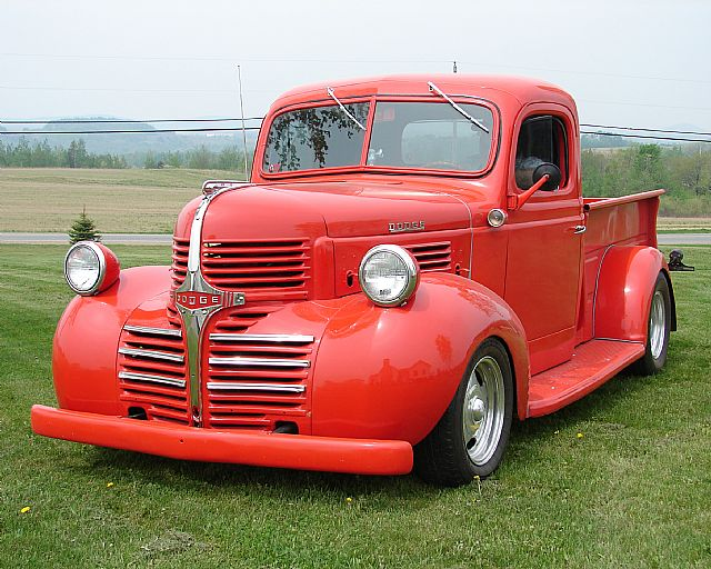 1947 dodge pickup for sale mars hill maine. Black Bedroom Furniture Sets. Home Design Ideas
