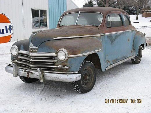 1948 plymouth coupe parts