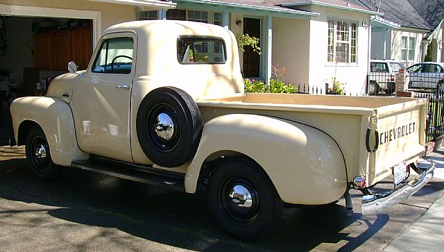1954 chevrolet 3100 1  2 ton pickup for sale burlingame