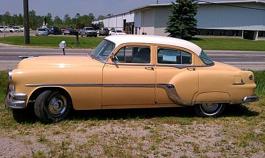 1954 Pontiac 4 Door for sale