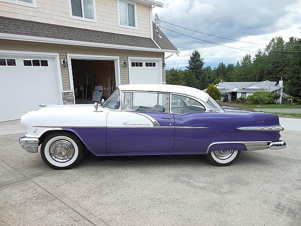 1956 pontiac laurentian hardtop for sale langley british for 1956 pontiac 2 door hardtop