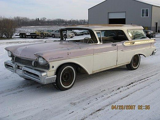 1957 Mercury Commuter for sale