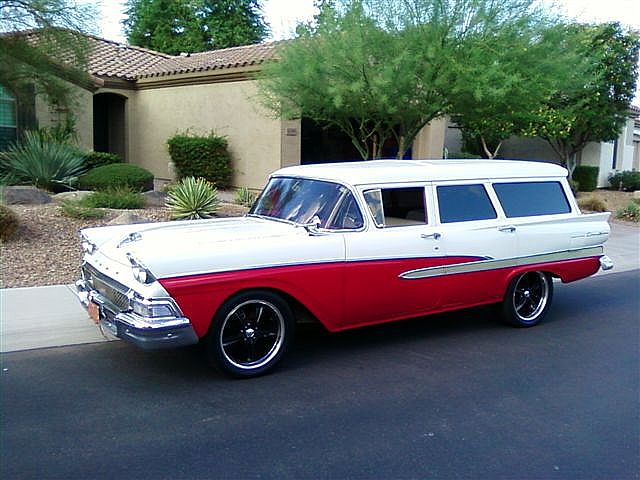1958 Ford Country Sedan for sale