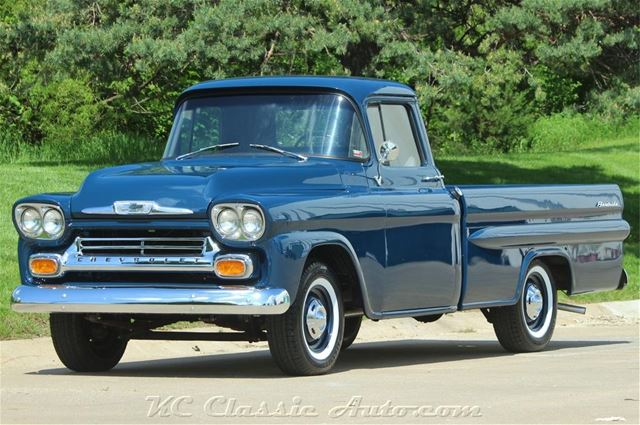 1958 Chevy Apache For Sale >> 1958 Chevrolet Apache Fleetside For Sale Lenexa Kansas