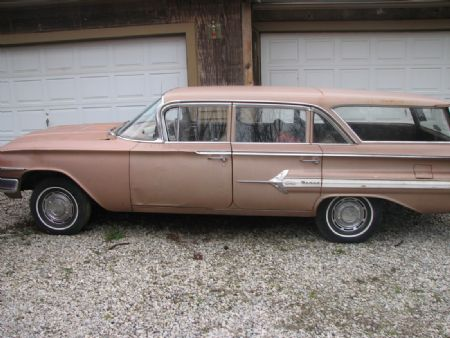 1960 chevrolet nomad for sale delaware ohio. Black Bedroom Furniture Sets. Home Design Ideas