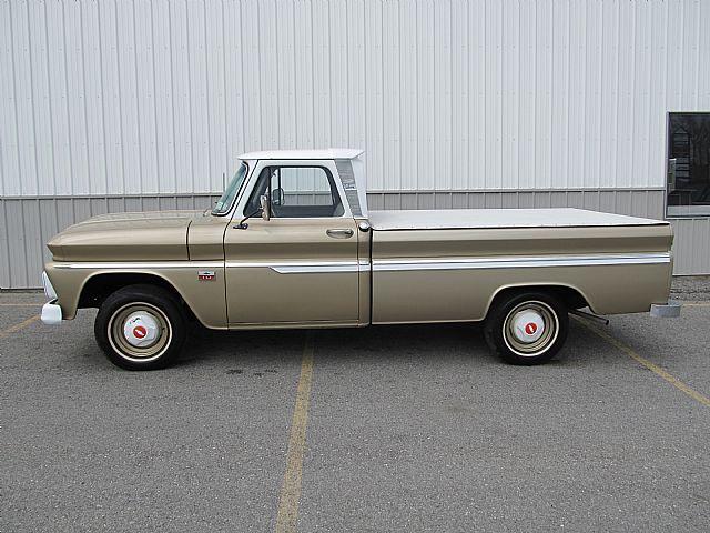 1966 chevrolet c10 pickup truck for sale attica new york. Black Bedroom Furniture Sets. Home Design Ideas