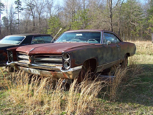 1966 Pontiac Bonneville 2 Door Hardtop For Sale Danville