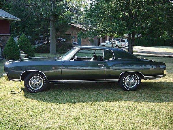 1970 chevrolet monte carlo for sale tilbury ontario. Black Bedroom Furniture Sets. Home Design Ideas