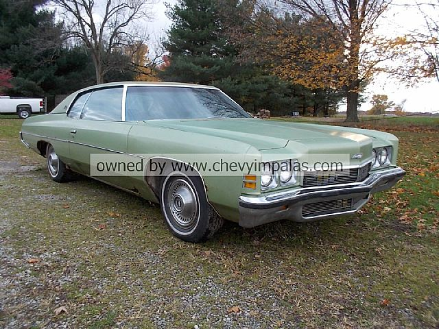 1972 chevrolet impala for sale creston ohio. Black Bedroom Furniture Sets. Home Design Ideas