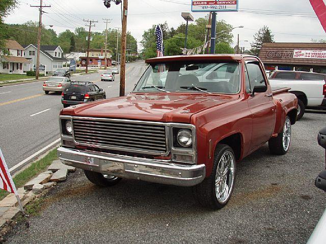 1979 chevrolet c10 pickup truck for sale kingsville maryland. Black Bedroom Furniture Sets. Home Design Ideas
