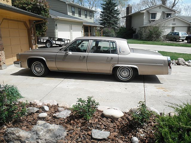 1981 Cadillac Sedan DeVille for sale