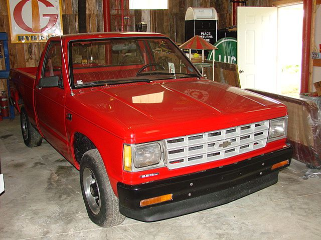 1987 chevrolet s10 for sale livermore kentucky. Black Bedroom Furniture Sets. Home Design Ideas