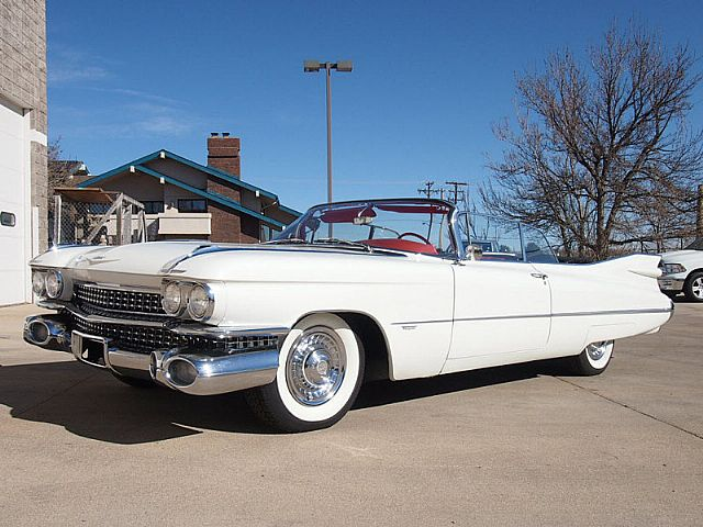 1959 Cadillac Series 62 Convertible For Sale Iowa