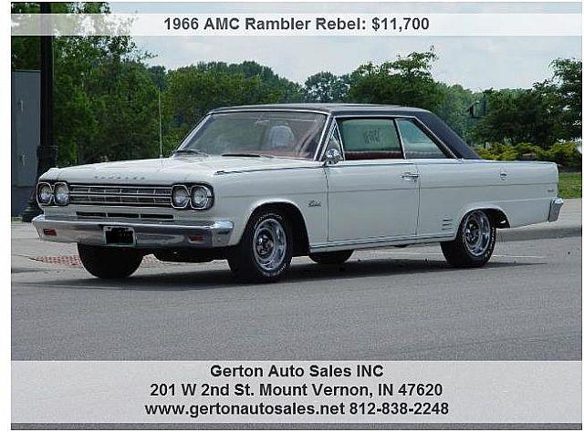 1966 Amc Rambler Production Numbers – Wonderful Image Gallery