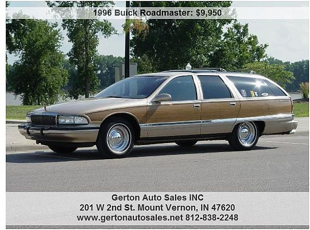 1996 Buick Roadmaster Estate Wagon For Sale Mount Vernon ...