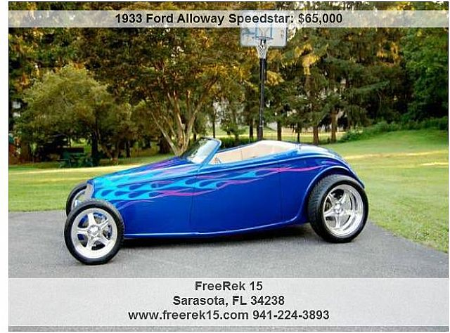1933 Ford Alloway for sale