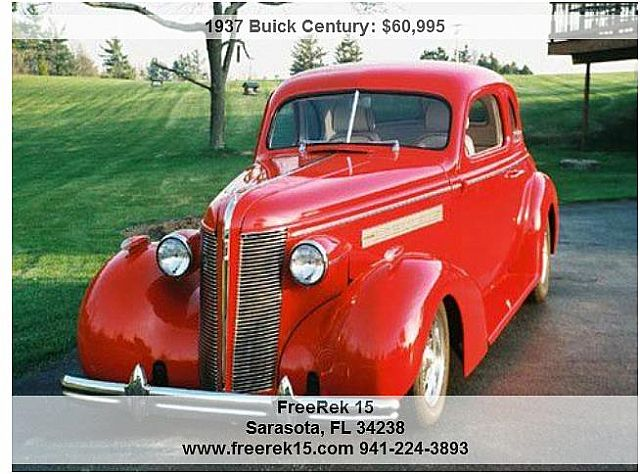1937 Buick Century for sale