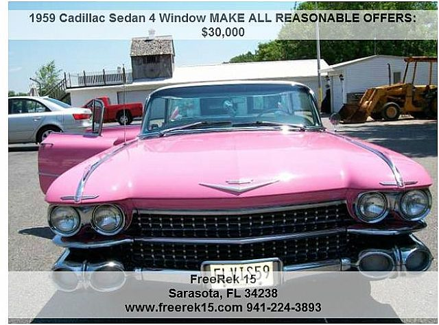 1959 Cadillac Sedan for sale