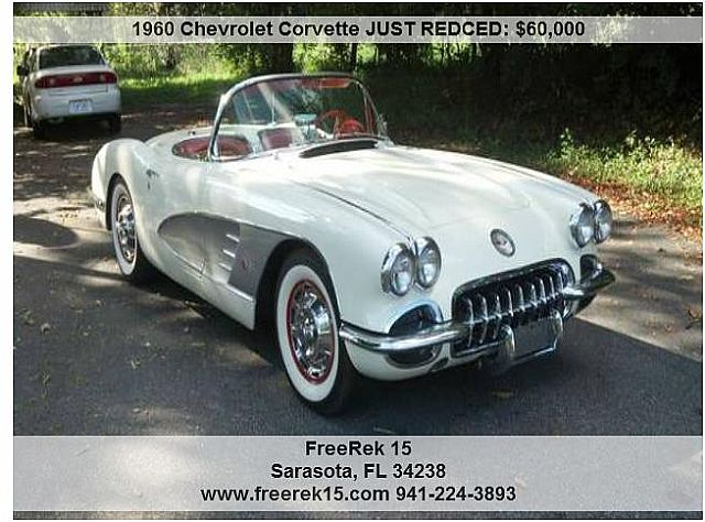 1960 chevrolet corvette for sale sarasota florida. Cars Review. Best American Auto & Cars Review