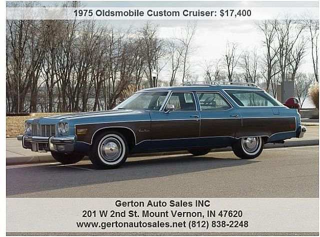 1975 Oldsmobile Custom Cruiser for sale