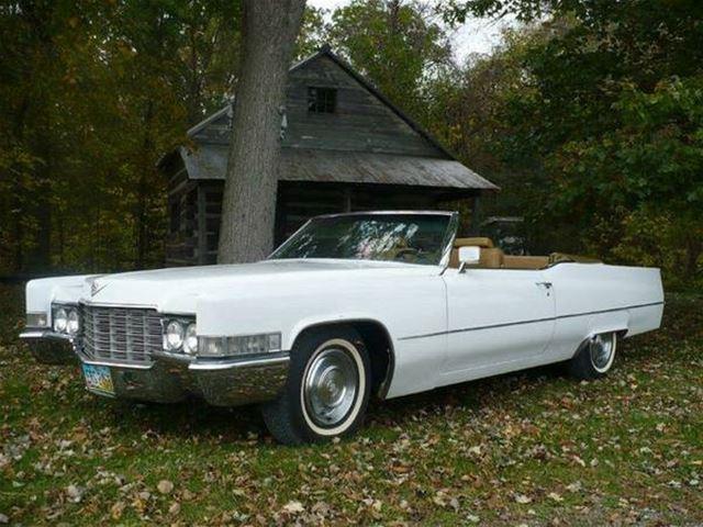1969 Cadillac Deville Convertible For Iowa