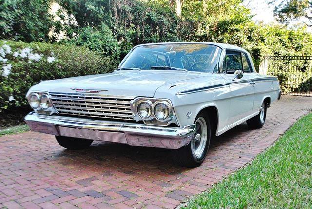 1962 chevrolet impala 409 for sale lakeland florida. Black Bedroom Furniture Sets. Home Design Ideas