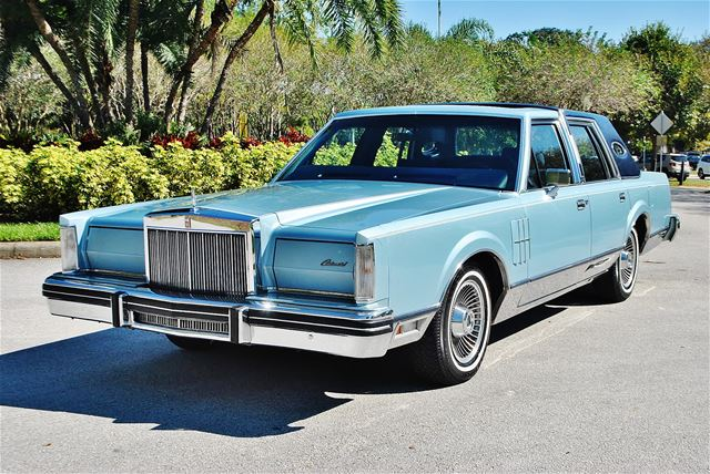 1980 lincoln continental mark vi for sale lakeland florida. Black Bedroom Furniture Sets. Home Design Ideas