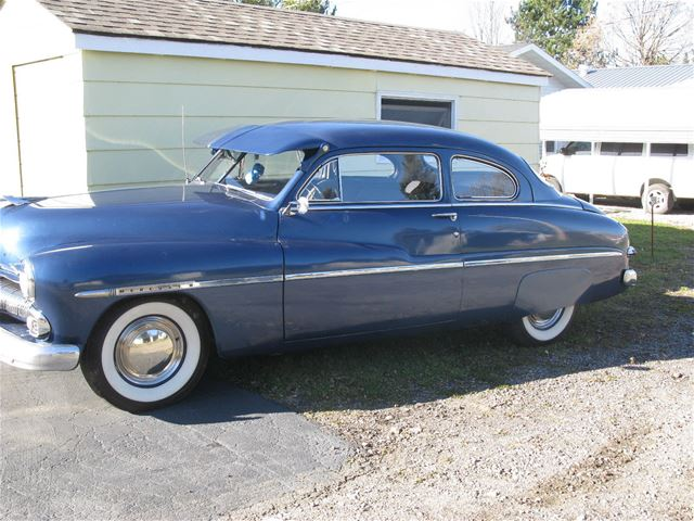 1950 mercury 2 door coupe for sale florida city florida
