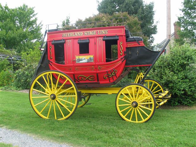1860 Other Overland Stage Coach
