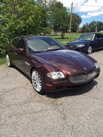 2007 maserati quattroporte for sale lynchburg virginia. Black Bedroom Furniture Sets. Home Design Ideas