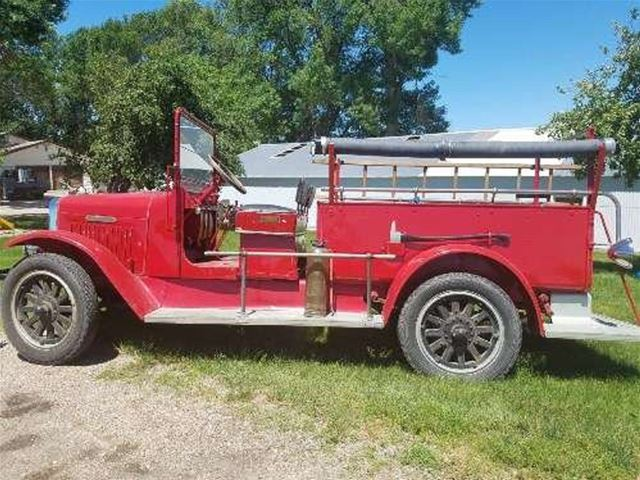 1926 International Fire Truck