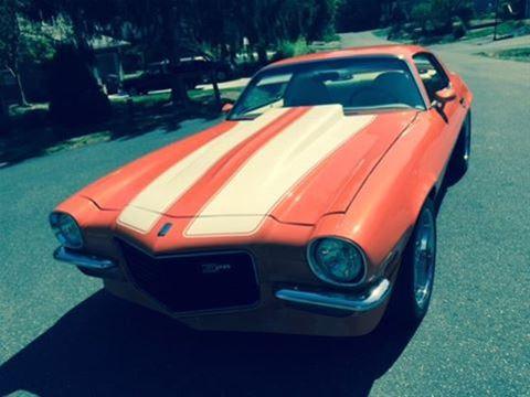 1972 Chevrolet Camaro For Sale Bellingham, Washington