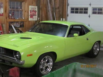 1972 Plymouth Barracuda for sale