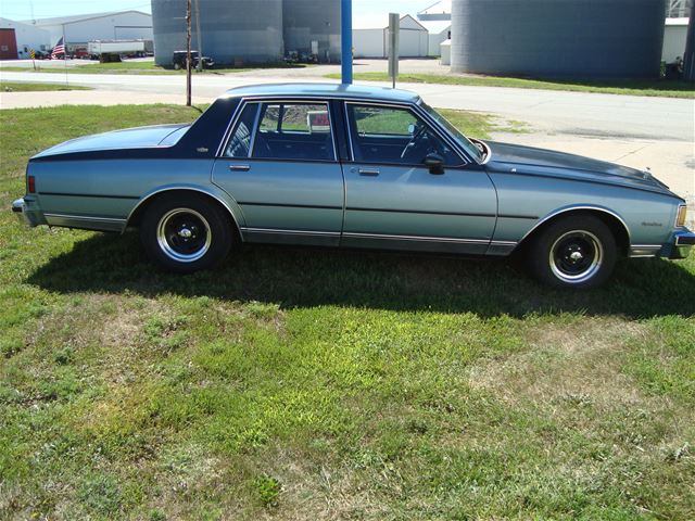 1985 chevrolet caprice classic 4dr for sale iowa collector car ads