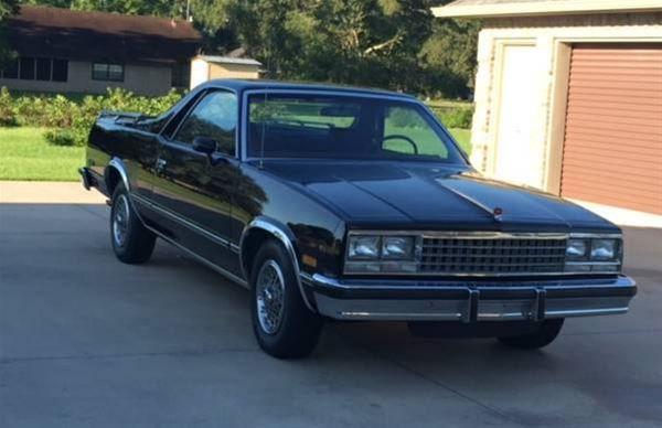 1984 Chevrolet El Camino For Sale Lake Charles Louisiana