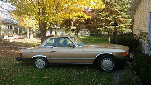1984 mercedes 380sl for sale erie pennsylvania for Mercedes benz erie pa