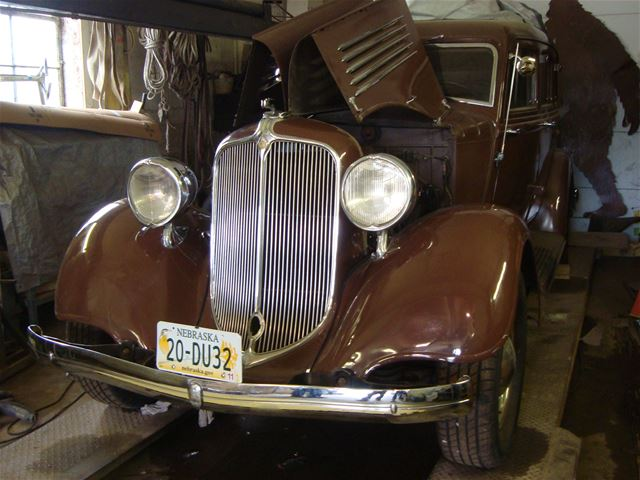 1934 Chrysler CA for sale