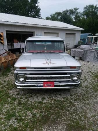 1966 chevrolet suburban for sale van buren indiana. Black Bedroom Furniture Sets. Home Design Ideas