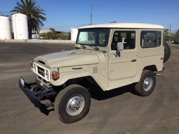 1979 Toyota Landcruiser BJ40 For Sale Martinez, California