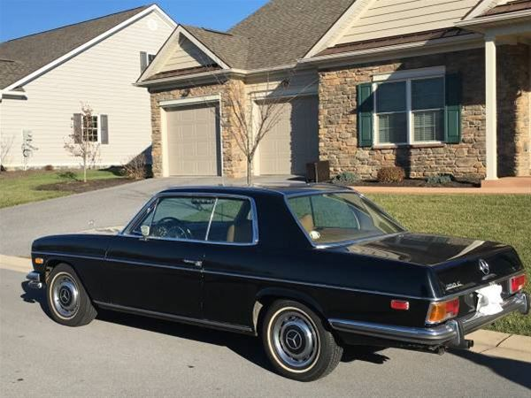 1972 Mercedes 250C for sale