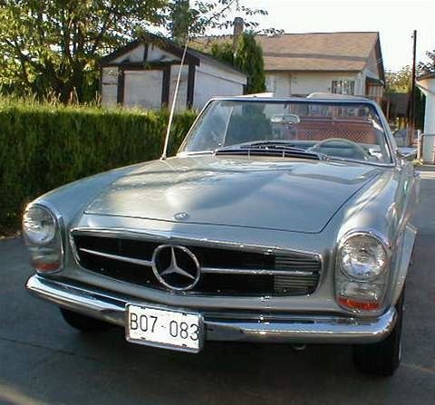 1968 Mercedes 280SL for sale