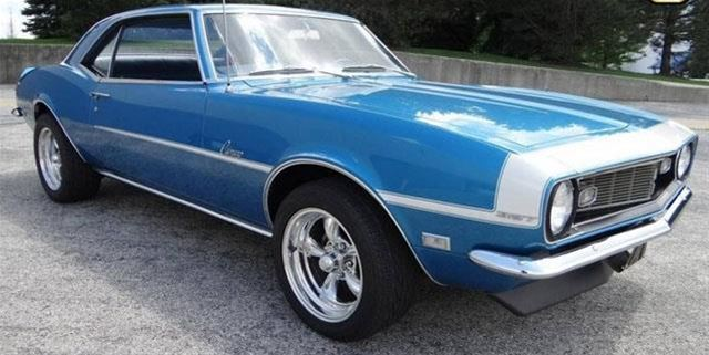 1968 chevrolet camaro for sale wharton new jersey. Black Bedroom Furniture Sets. Home Design Ideas