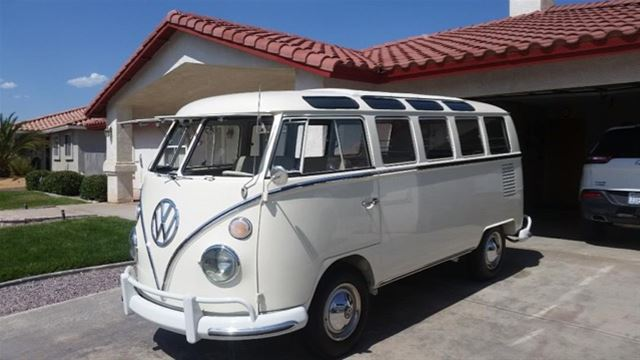 1966 Volkswagen 21 Window