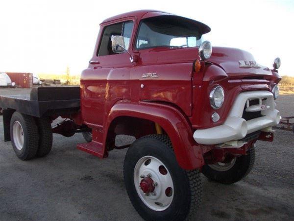 1956 Gmc Napco For Sale Alberta