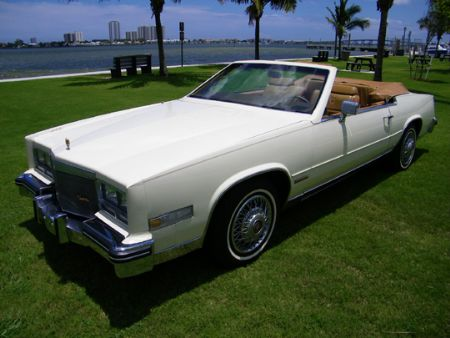 1983 cadillac eldorado convertible for sale west palm beach florida collector car ads