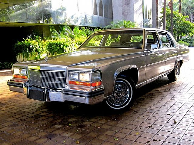 1986 Cadillac Brougham for sale