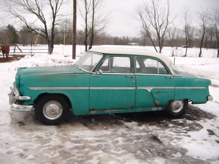 1954 ford customline for sale shelby michigan for 1954 ford customline 4 door