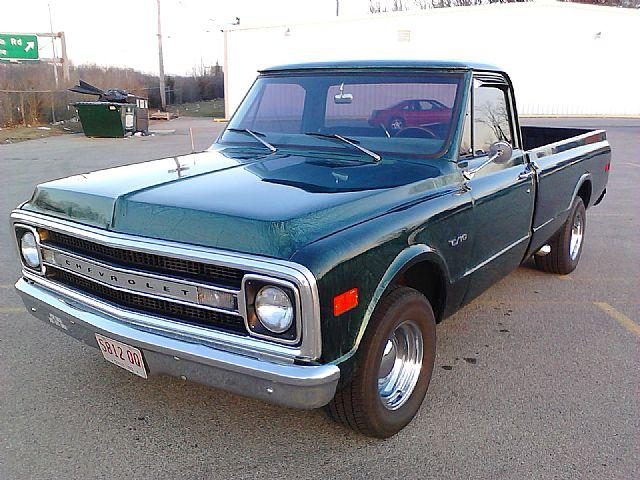 1970 chevrolet c10 custom shortbed pickup truck for sale autos post. Black Bedroom Furniture Sets. Home Design Ideas