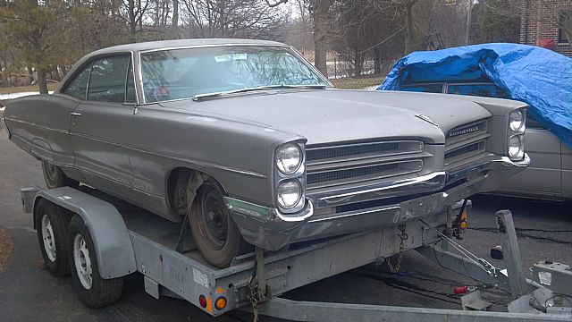 1966 Pontiac Bonneville for sale