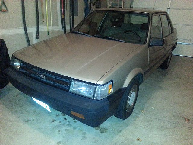 1986 Toyota Corolla for sale